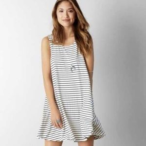 American Eagle Outfitters black & white tank dress
